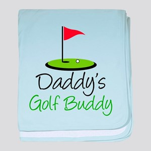Daddy's Golf Buddy baby blanket